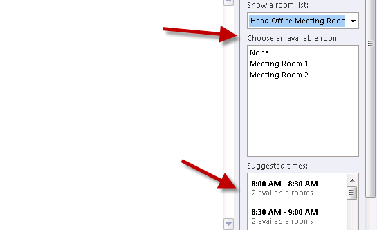 How to Find Available Meeting Rooms