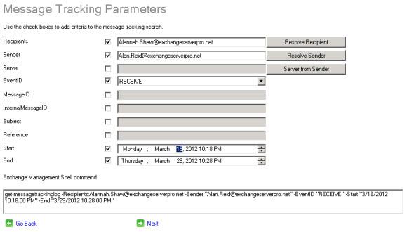 Message Tracking Log Explorer