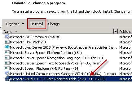 Installing Exchange Server 2013 Pre-Requisites on Windows Server 2008 R2