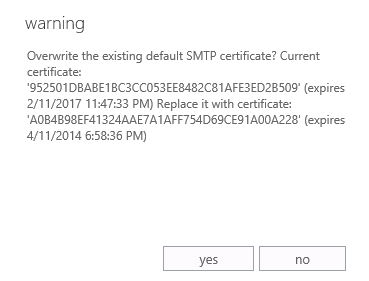 How to Assign an SSL Certificate to Services in Exchange Server 2013