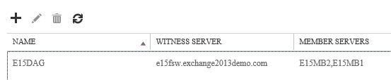 Installing an Exchange Server 2013 Database Availability Group