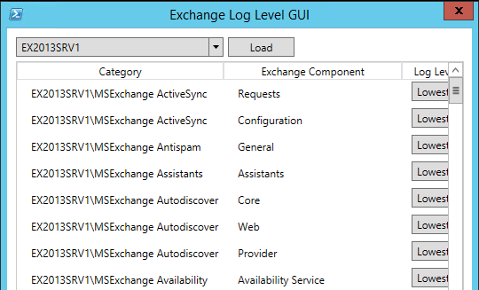 log-level-gui