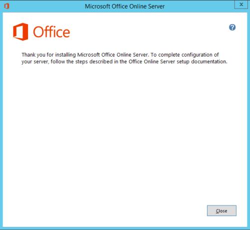 office-online-server-install