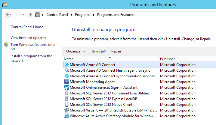 Migrating Azure AD Connect to a New Server