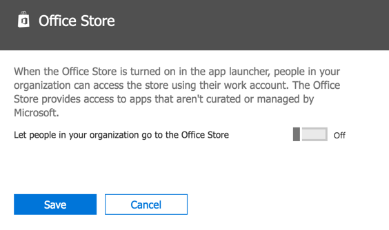 Managing Adoption of Office 365 by Controlling Access to Apps