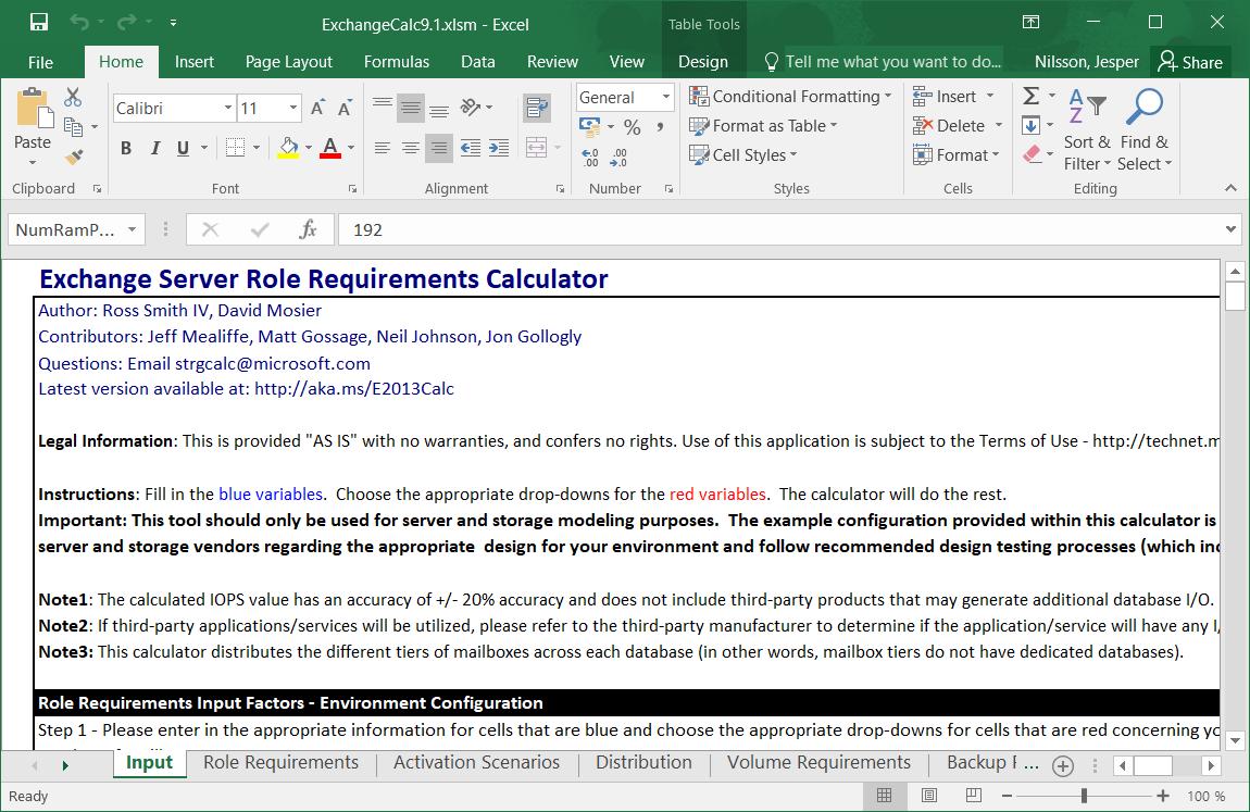 "Unleash the ""Hidden Magic"" in the Exchange Server Role Requirements Calculator"