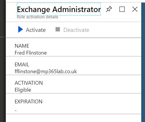 Exchange Administrator screenshot