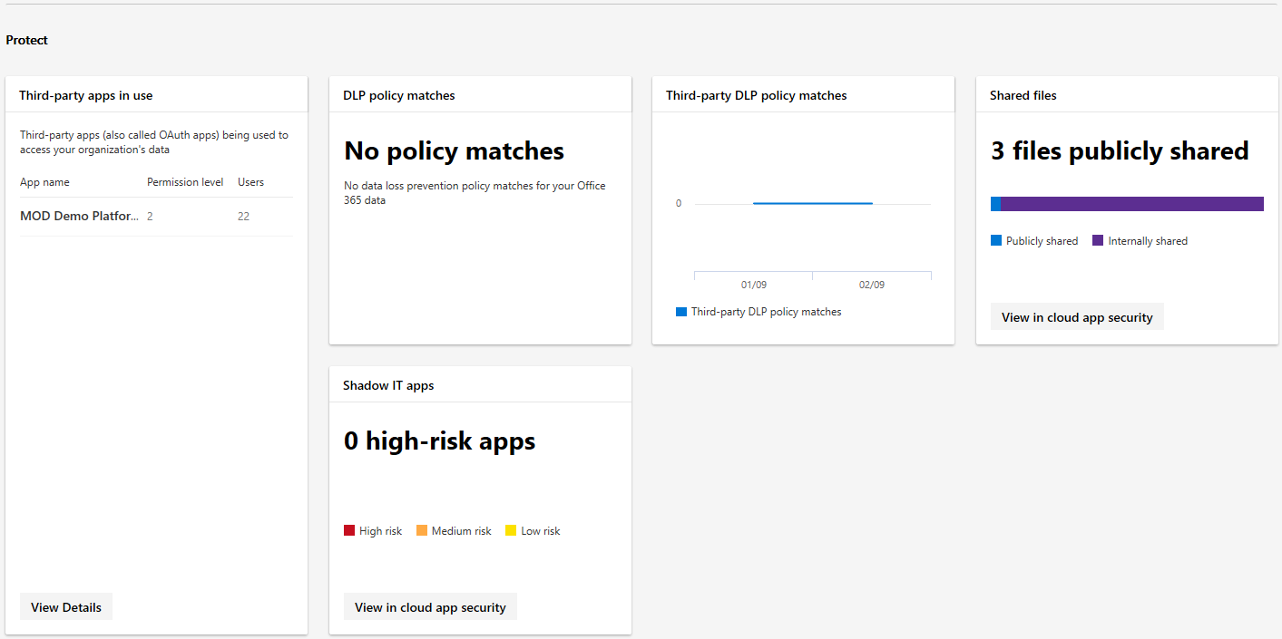 First look at the new Microsoft 365 Security & Compliance portals