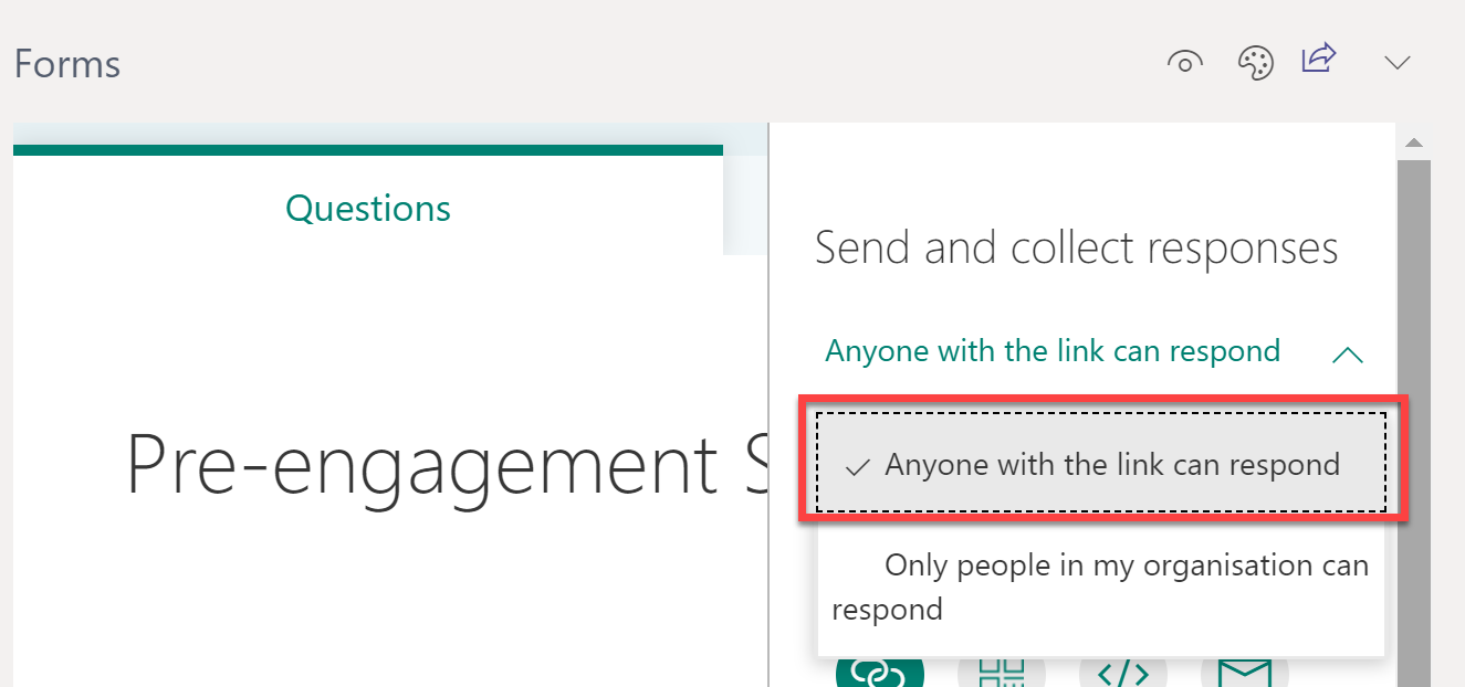 Use Microsoft Forms in Teams to work together managing anonymous surveys