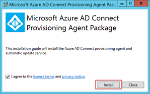 Microsoft Azure AD Connect Provisioning Agent Package