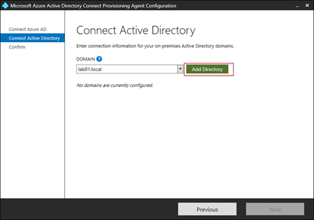 Connect Active Directory