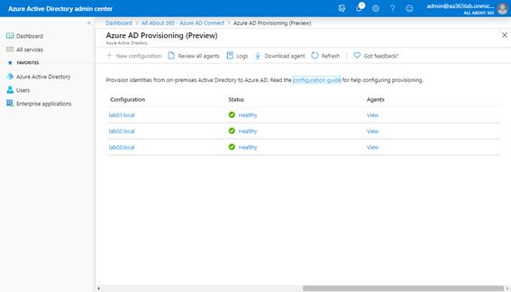 Azure Active Directory Admin Center