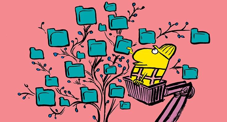 Replacing permissions on public folder trees