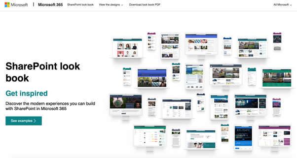 SharePoint Online Intranet lookbook