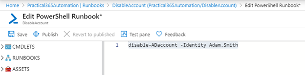 Disable Account