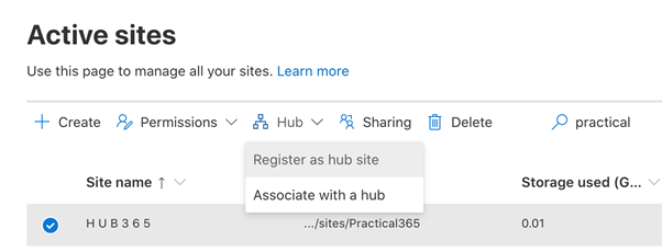 Active Sites
