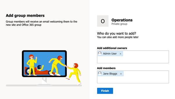 Add Microsoft 365 group members