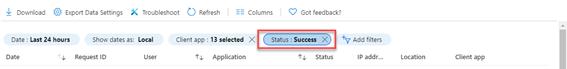 Status: success