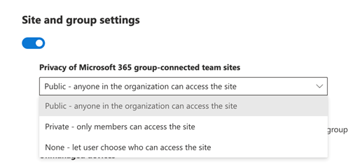 Using sensitivity labels with SharePoint sites, Microsoft Teams, and M365 groups – Part 1