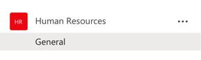 Human Resources > General