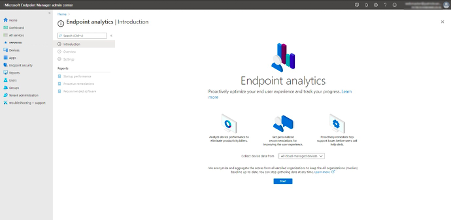 Collecting data Endpoint analytics