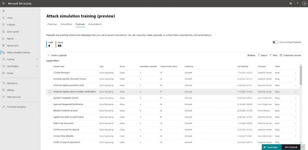 How to train your users against threats with Attack Simulation Training